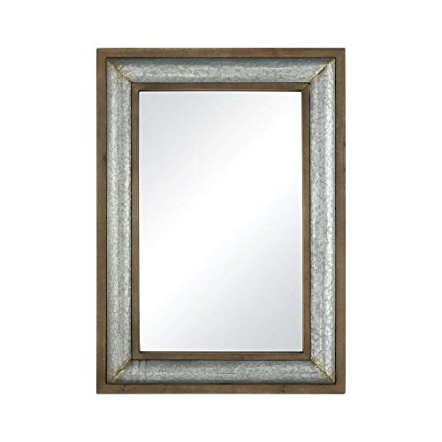 Elk Mirrors - Elk Laight Street Wall Mirror, Galvanized Steel