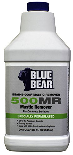 BLUE BEAR 500MR Mastic Remover For Concrete Quart