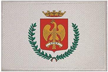 U24 Aufn/äher Palermo Stadt Fahne Flagge Aufb/ügler Patch 9 x 6 cm