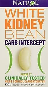 Natrol White Kidney Bean Carb Intercept,  120 Capsules