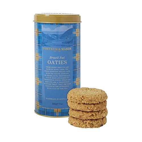 Fortnum & Mason British, Fortnum & Mason Brazil Nut Oaties, 200g (1 Pack) - NEW Edition - USA Stock