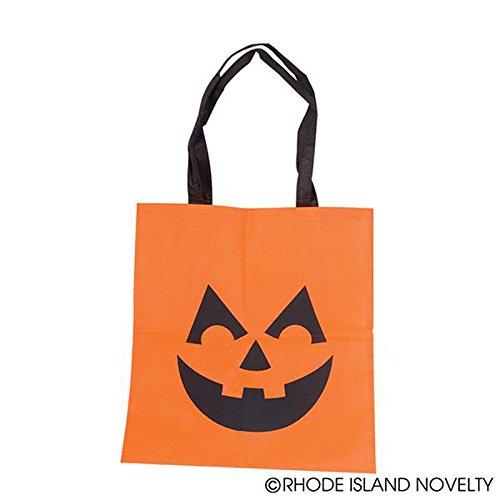 Rhode Island Novelty Large Jack-O-Lantern Tote Bag