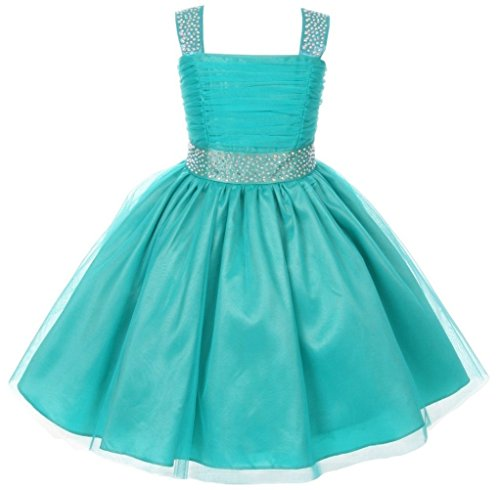 Little-Girls-Adorable-Shinny-Studded-Rhinestone-Sleeveless-Flower-Girls-Dresses