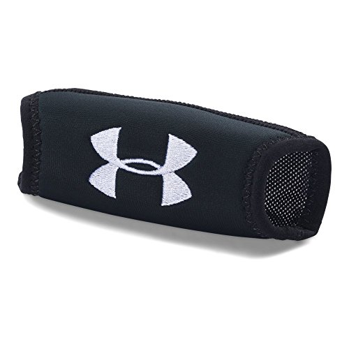 Under Armour Mens Chin Pad, Black/Black, One - Football Helmets Pads