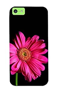 MMZ DIY PHONE CASEipod touch 4 Scratch-proof Protection Case Cover For Iphone/ Hot Pink Gerbera Phone Case
