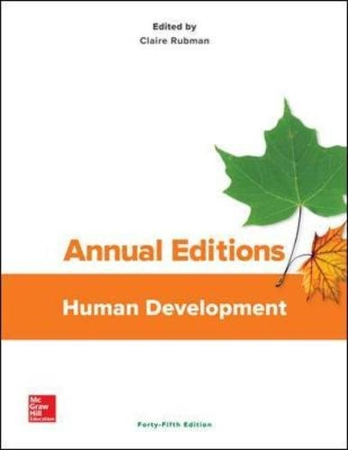 Annual Editions: Human Development, 45/e