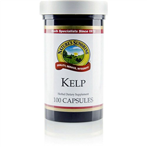 Nature's Sunshine Kelp 100 Capsules (Pack of 2)