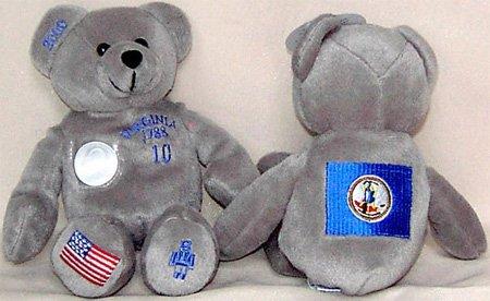 (Virginia Statehood Quarter Bear - No Coin)