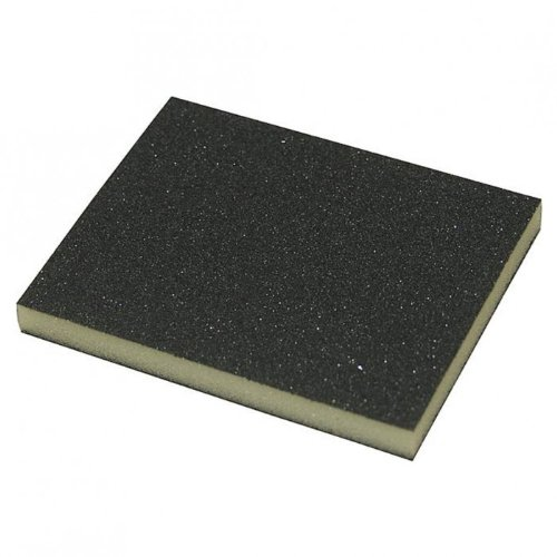 Schleifschwamm Schleifpad zweiseitig beschichtet - 123 x 97 x 12 mm - diverse Kö rnungen - VPE = 5 Stü ck, Kö rnung:K. 220/500 werkstatt-king