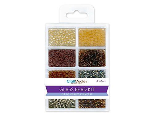 Bugle Glass Bead Kit - Glass Bead Kit, 45g, Rocailles/Seed/Bugles, Nuggets