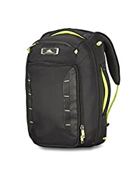 High Sierra 67939-4491 AT8 - Adventure Travel Convertible Carry On Backpack, Black with Zest Trim, International Carry-On