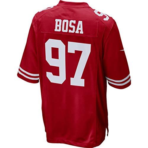 - Intuit Fast Youth Nick_Bosa_97_Scarlet Fans Replica Jersey Sportswear Custom Football Game Limited Elite Legend Jerseys