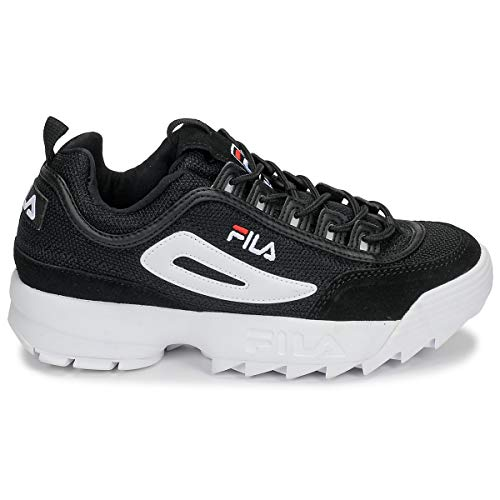 S Femme Heritage Fila Noir Disruptor baskets Chaussures x87qxwP04