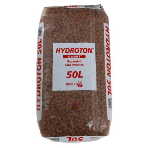 Hydroton Clay Pellets - Mother Earth Products Hydroton Giant 50 Liter (36/PLT)