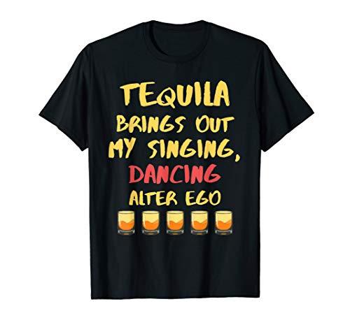 Tequila Alter Ego Cinco De Mayo Pun Art Gift T Shirt Saying