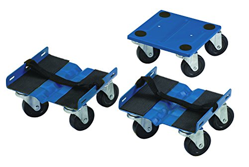 Shepherd Hardware 9298 Snowmobile Dolly Set, 1000-lb Load Capacity