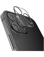 لهاتف ايفون 12 برو ماكس لاصقه حمايه لعدسه الكاميرا من الزجاج المرن بتكنولوجيا النانو شفاف ضد الصدمات