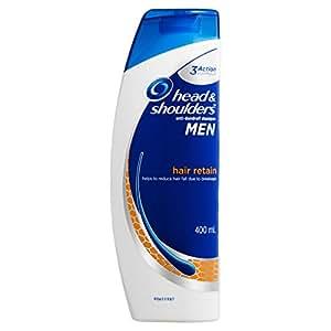 Head & Shoulders For Men Hair Retain Anti-Dandruff Shampoo 400ml