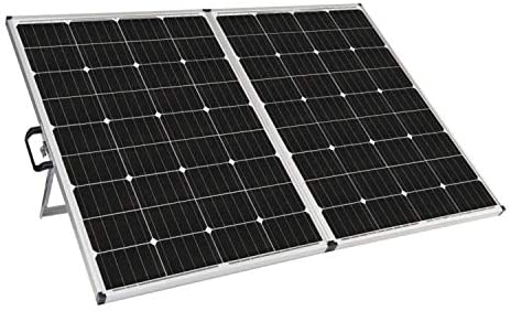 Zamp solar Legacy Series 230-Watt Portable Solar Panel Kit with Integrated Charge Controller and Carrying Case. Off-Grid Solar Power for RV Battery Charging - USP1004