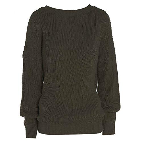 Islander Fashions - Pull - Femme Marron