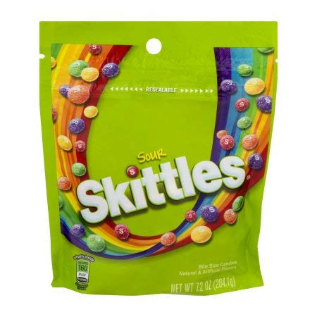 Skittles Candy Sour (Pack of 12) by Skittles