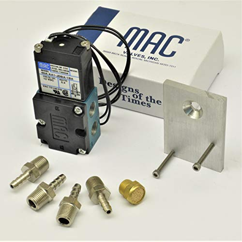 Circuit Se7en Simple Bracket & FIttings with genuine MAC 4 port solenoid Boost valve 46A-AA1-JDBA-1BA