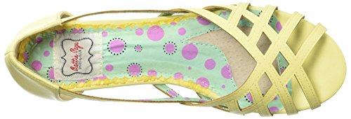 Sandal Yellow Carren Women's BP100 Flat Page Bettie YxwRXq70F