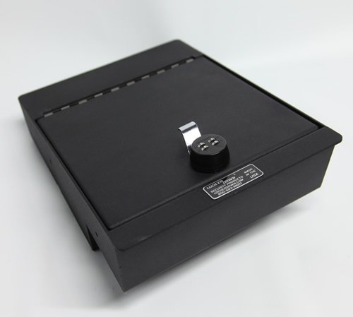 Lock'er Down® Console Safe with 4 Digit Combo Lock for 2014 1500 Series Sierra and Silverado with split bench seat