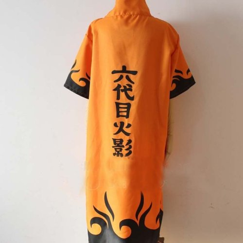Topbill Naruto Uzumaki Naruto 6th Hokage Cosplay Costume Halloween Clothing S-XXL (S(153-157CM))
