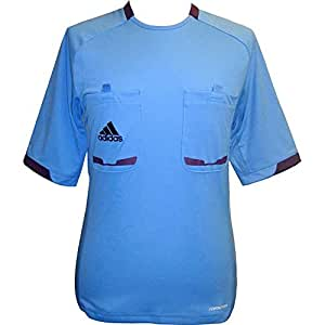 Adidas Referee 12 Soccer Jersey - Columbia Blue - M