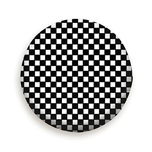 Large beach pants Tire Cover Checker Board Polyester Universal Spare Wheel Tire Cover Wheel Covers Jeep Trailer Rv SUV Truck Camper Travel Trailer Accessories
