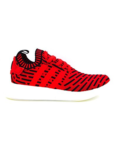 ADIDAS NMD R2 PK SNEAKERS ROSSO NERO BIANCO BB2910 - 42-2-3, ROSSO