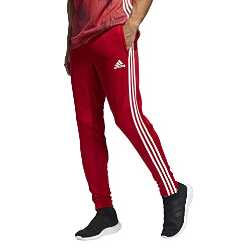 Adidas Men's Tiro19 Training Pants, Power Redwhite, Large