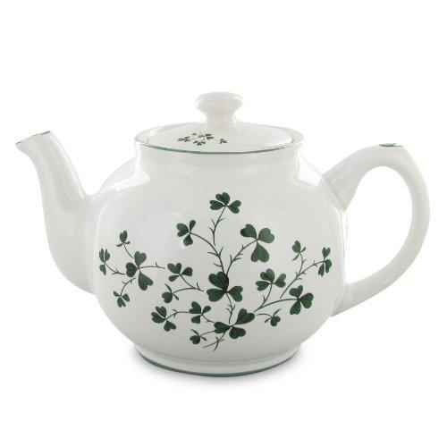 English Tea Store Shamrock Teapot 5 Cup