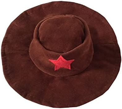 NACOCO Cowboy Dog Costume with Hat Dog Clothes Halloween Costumes for Cat and Small Dog 25