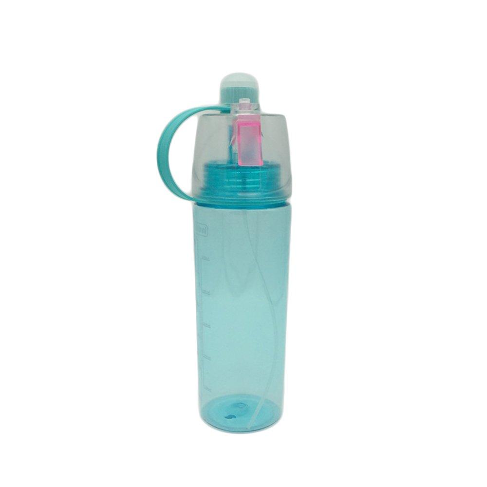 Botella de agua deportiva de 400 ml, 600 ml, marca de tiempo que te ayuda a hidratar 3 botellas de color para adultos, niños niños YULAN