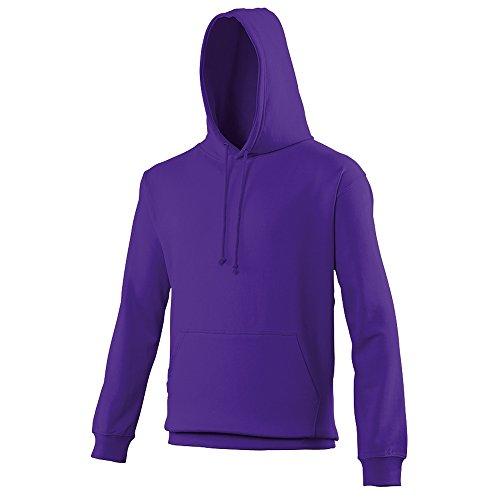 Hoodie Burnt Foncé College Streetwear Awdis Sweat Hoods Capuche Hommes Orange Violet T6dqFdxB