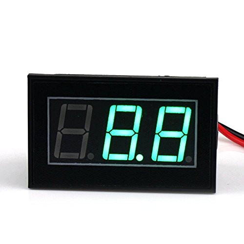 Waterproof 4 5 150V Automative Electric Voltmeter