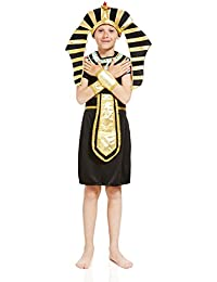 kids boys pharaoh tut halloween costume egyptian king god dress up role play - Egyptian Halloween Costumes For Kids