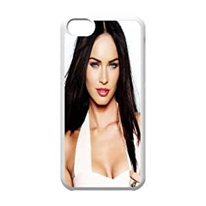 iPhone 5c Cell Phone Case White Megan Fox In White Dress LSO7873844