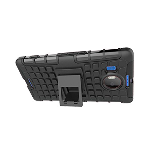 Microsoft Lumia 950 XL Funda,COOLKE Duro resistente Choque Heavy Duty Case Hybrid Outdoor Cover case Bumper protección Funda Para Microsoft Lumia 950 XL - púrpura negro