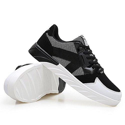 Deporte y con Zapatillas Moda Dig Hombre dog Cordones de Mujer Plano de de de Black de Orange Zapatillas Smash de bone Moda tacón wYOTqcETzx