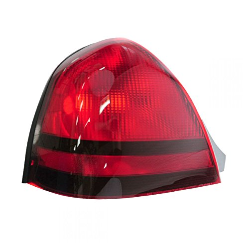 Taillight Taillamp Left Driver Side Rear Brake Light for 03-11 Grand Marquis