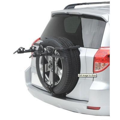 Hollywood Racks SR1 Spare Tire Rack 2-Bike Spare Tire Mount (Bike Spare Tire)