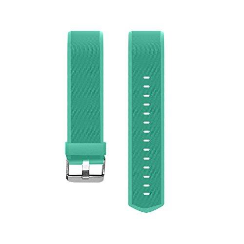 MoreFit Slim HR Plus Band - Adjustable Replacement Strap for MoreFit Slim HR Plus Smart Wristbands - Green