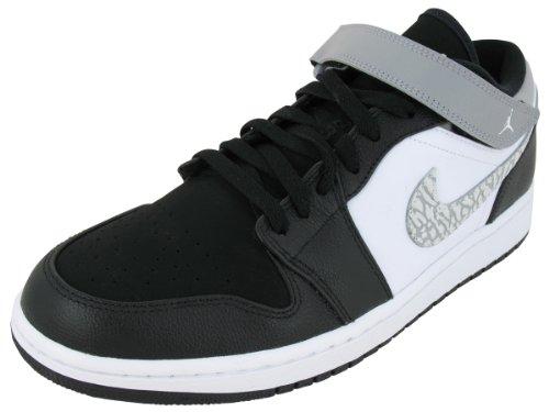 766ca4abb53a65 Nike Air Jordan 1 Strap Low 574420-003 Men s Basketball Shoes 10 D(M) US -  Buy Online in Oman.