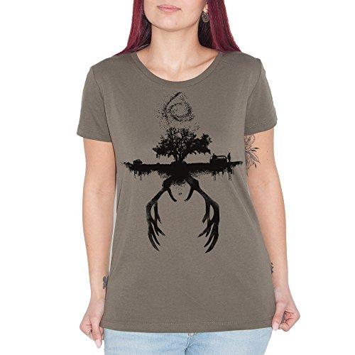 Camiseta True Detective Horns–by BRAIN Factory