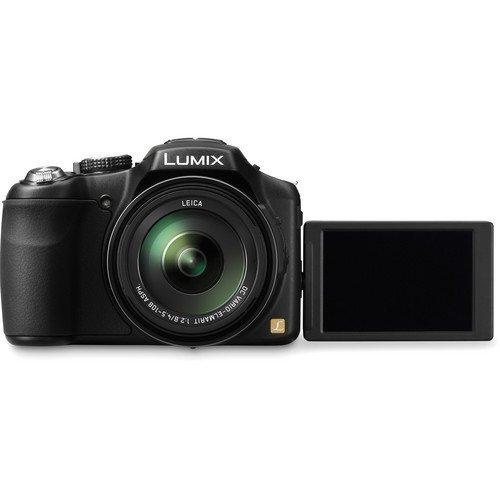 Panasonic Lumix DMC-FZ200 12.1 MP Digital Camera with CMOS Sensor and 24x Optical Zoom - Black