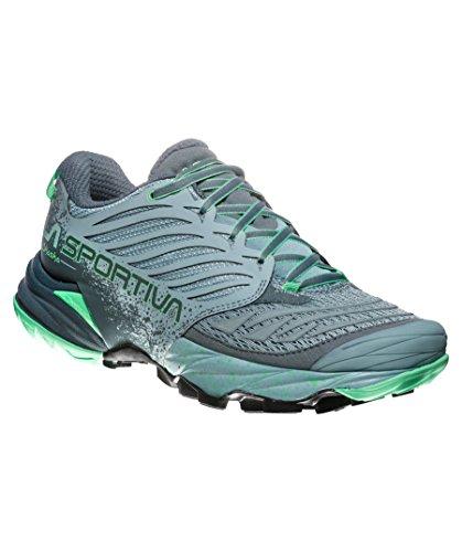 Trail Akasha Jade Zapatillas Woman Mujer Multicolor Running Sportiva La Green para 000 Stone de Blue qn5Xw7x