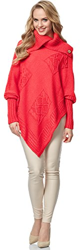 Corail MSSE0021 Femme pour Merry Poncho Style nwX1WWT06